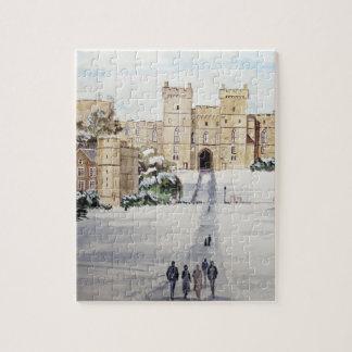 Puzzle Hiver au château de Windsor par Farida Greenfield