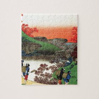 Puzzle Hokusai - art japonais - le Japon