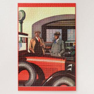 Puzzle Hommes 1927 de l'annonce deux de pneu de