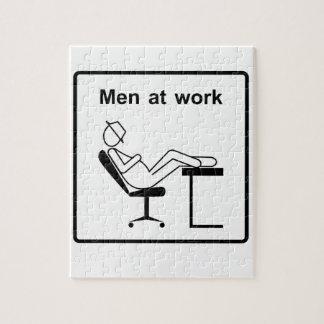Puzzle hommes à work.ai