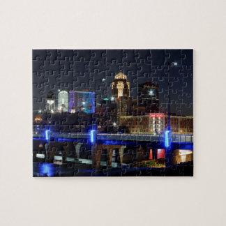 Puzzle Horizon de Des Moines avec l'hommage d'Orlando