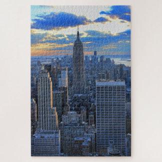 Puzzle Horizon de la fin de l'après-midi NYC comme