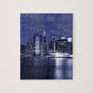 Puzzle Horizon de New York la nuit