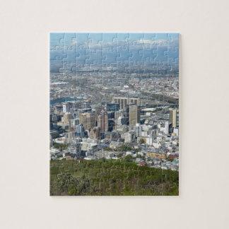 Puzzle Horizon de ville de Cape Town