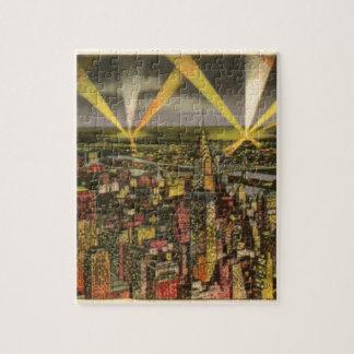 Puzzle Horizon vintage de New York City