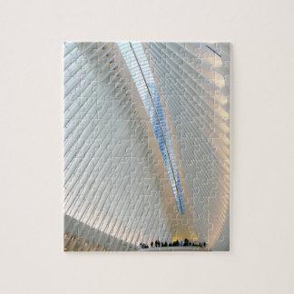 Puzzle Hub de transport de World Trade Center, NY