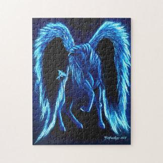 Puzzle illuminé par les étoiles de Pegasus de