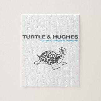 Puzzle Illustration de tortue et de Hughes