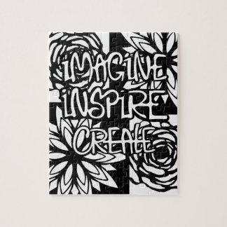 Puzzle Imagine inspirent créent la COULEUR VOS PROPRES