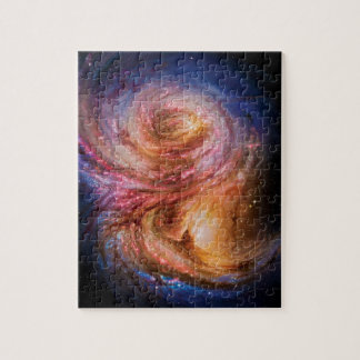 Puzzle Impression d'artiste de la galaxie en spirale SMM