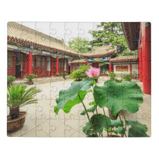 Puzzle Intérieur de pagoda de la Chine