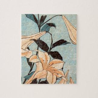 Puzzle Iris japonais