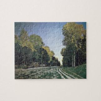 Puzzle Itinéraire de Chailly, Fontainebleau de Claude