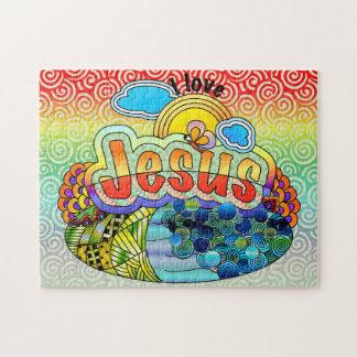 Puzzle J'aime la casse-tête de Jésus