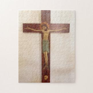 Puzzle Jésus sur l'art croisé
