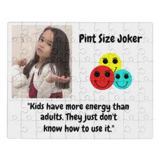 Puzzle Joker de taille de pinte : Énergie d'enfant et