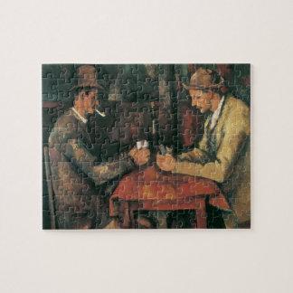 Puzzle Joueurs de carte par Paul Cezanne, beaux-arts