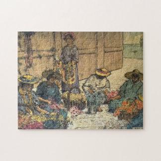 "Puzzle Jour Hawaï"" - Charles W. Bartlett ""de Lei"
