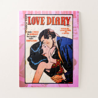Puzzle Journal intime #33 d'amour
