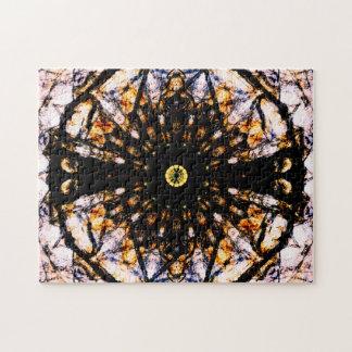 Puzzle Kaléidoscope abstrait