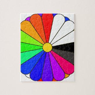 Puzzle Koloroj