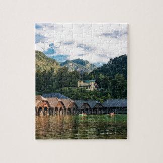 Puzzle Konigssee, lac des rois. L'Allemagne