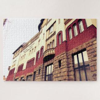 Puzzle La belle architecture du palais de culture