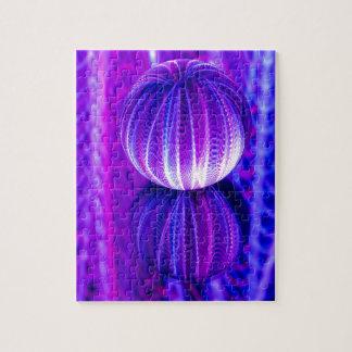 Puzzle la boule de cristal se reflètent