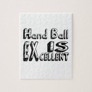 Puzzle La boule de main est excellente