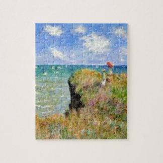 Puzzle La falaise de Pourville de Claude Monet