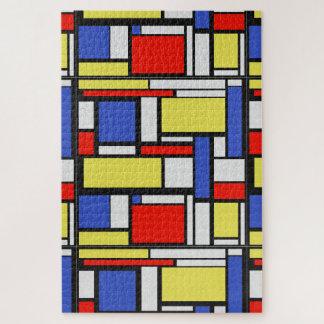 Puzzle La géométrie de Mondrian