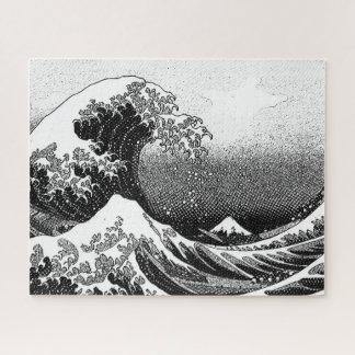 Puzzle La grande vague outre de Kanagawa (神奈川沖浪裏)