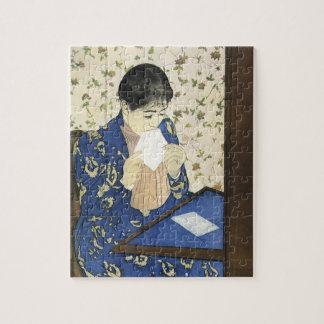 Puzzle La lettre par Mary Cassatt, impressionisme vintage