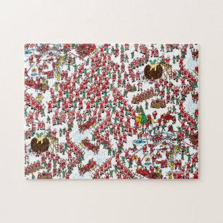 Puzzle Là où est Waldo | étant Père Noël