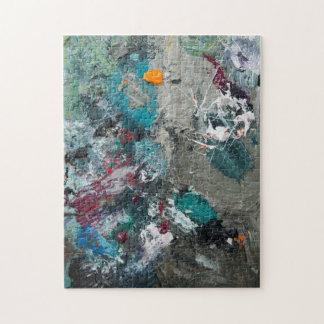 Puzzle La palette du peintre