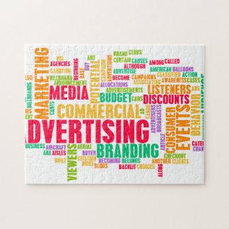 Puzzle La publicité en ligne et dans la méthode