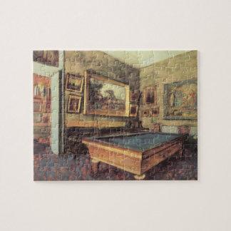 Puzzle La salle de billard chez Menil Hubert par Edgar