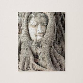 Puzzle La tête de Bouddha dans l'arbre de Bodhi,