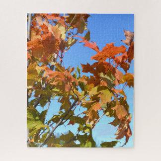 Puzzle La transition de l'automne