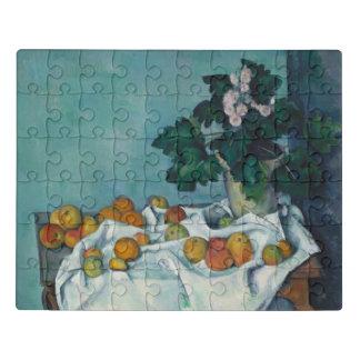 Puzzle La vie toujours avec des pommes et un pot de