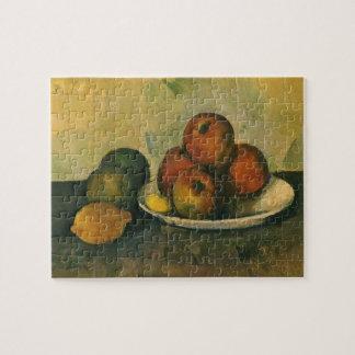 Puzzle La vie toujours avec des pommes par Paul Cezanne