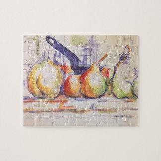 Puzzle La vie toujours avec la casserole par Paul Cezanne