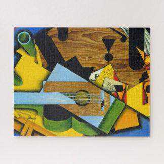 Puzzle La vie toujours avec une guitare par Juan Gris