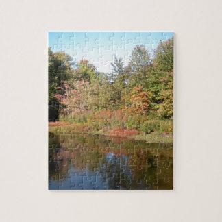 Puzzle Lac autumn