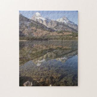 Puzzle, lac jenny, parc national grand de Teton Puzzle