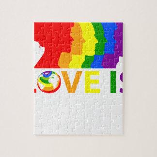 Puzzle L'amour est amour