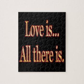 Puzzle L'amour est tout là est