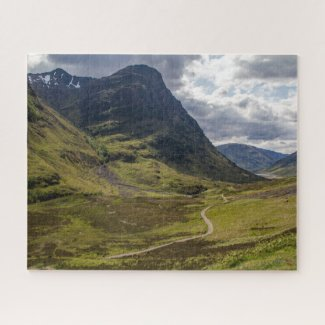 Puzzle Landscape of Scotland - Glencoe Valley 2