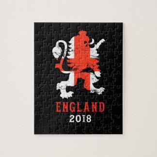 Puzzle L'Angleterre 2018 - Équipe de football BRITANNIQUE