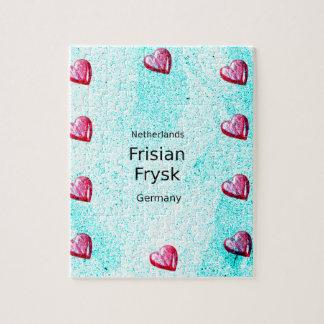 Puzzle Langue de Frisian (l'Allemagne et le Pays-Bas)